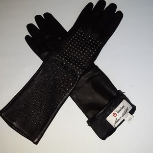 Black gloves Neiman Marcus for target xs